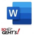 Word 365 - rissip Onlinekurs - SoGeht's