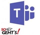 Microsoft Teams - Onlinekurs - SoGeht's