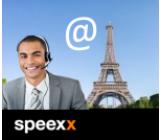 Speexx Französischkurs mit Livetraining und persönliche Coach - rissip Onlinekurs